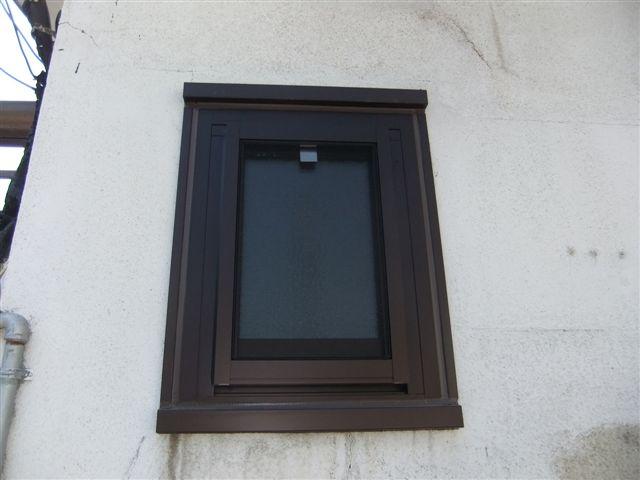 内倒し窓(カバー工法)